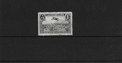 LUXEMBOURG 1931, 3f BLACK AIR, FINE USED, SG300A