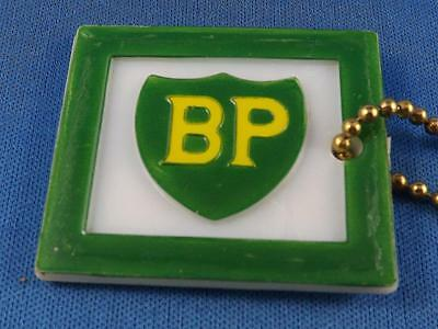 Bp Oil Gas Station Corunna Car Care Ontario Vintage  Keychain Key Ring Collector