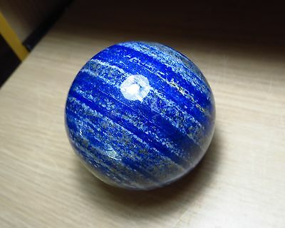 364g LARGE AAA LAPIS LAZULI polished CRYSTAL BALL 62mm DIAMETER