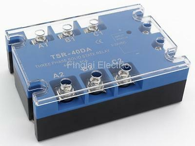 TSR-40DA three phase DC to AC 40A 480V solid state relay / SSR