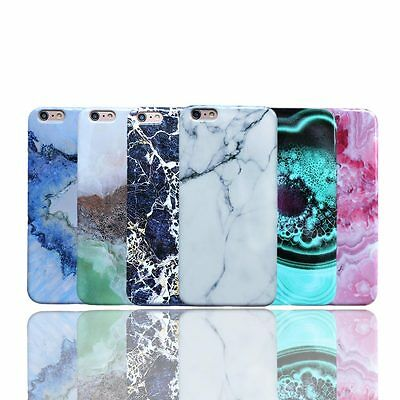 Stylish Granite Marble Stone Effect Soft Cover Phone Case For iPhone 7 7 Plus