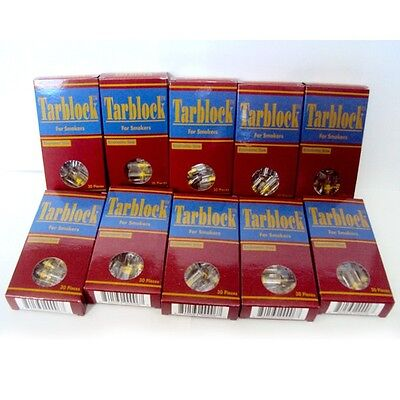 Tarblock Cigarette Filters pack of 10  ( 300  filters )