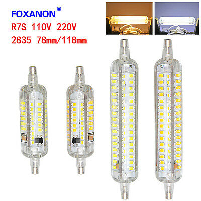 R7S 8W 15W 78mm 118mm 2835 SMD LED Flood Light White Bulb Lamps Halogen