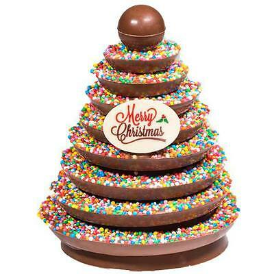 New Freckle Christmas Tree chocogram gifts her him christmas Chocolate Xmas