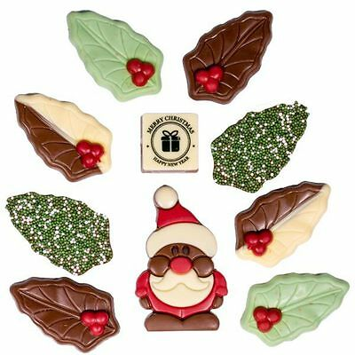 New Christmas Cheer Large chocogram gifts her him christmas Chocolate Xmas
