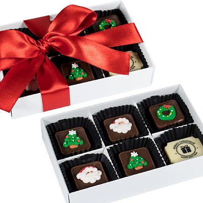 New Christmas Fix Medium chocogram gifts her him christmas Chocolate Xmas