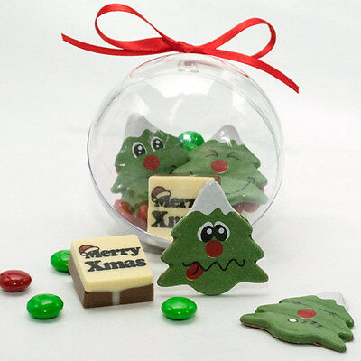New Christmas m&m Bauble chocogram gifts her him christmas Chocolate Xmas