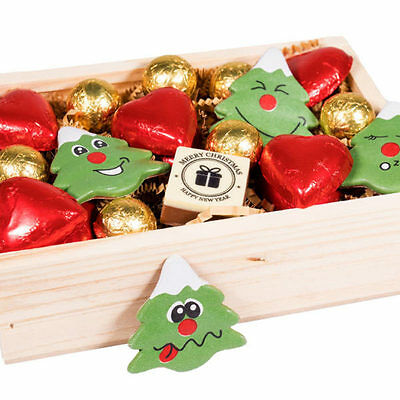 New Christmas Treats chocogram gifts her him christmas Chocolate Xmas