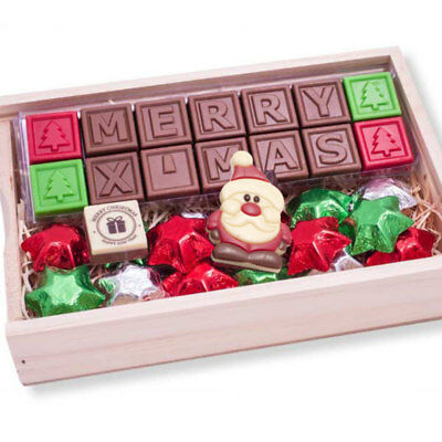 New Christmas Celebration chocogram gifts her him christmas Chocolate Xmas