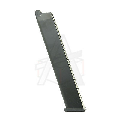 WE Airsoft G Series 50rd METAL Extended Green Gas Magazine - Free Shipping!