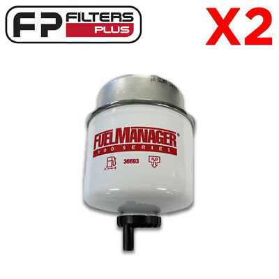 36693 Twin Pack - Genuine Fuel Manager Filter- 2 Micron - BACK IN STOCK