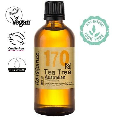 Tea Tree, Premium Australian Essential Oil 100ml by Naissance