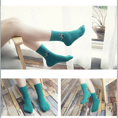 New Fashion Harajuku Candy Color Casual Cute Cartoon Warm Socks For Women Girls