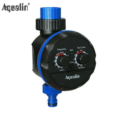 New Ball Valve Irrigation Controller Garden Water Tap Timer With Delay Action