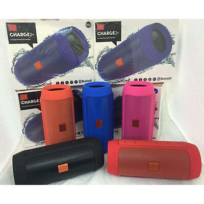 Mini Bluetooth Cell Speaker Power Bank Home Outdoor Portable Stereo Subwoofer