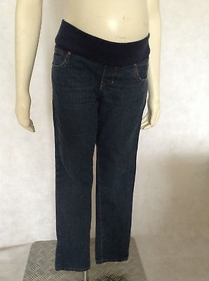 [383] New Look Maternity Blue Skinny Jeans Size 14