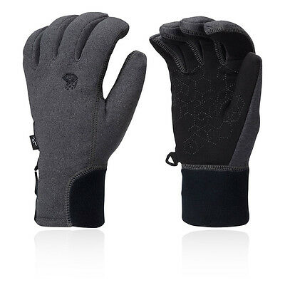 Mountain Hardwear Power Stretch Stimulus Mujer Gris Invierno Calentar Guantes