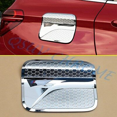 Chrome Car Body Tank Gas Cap Cover Decorate For 2016 2017 BMW F48 X1 Accessories