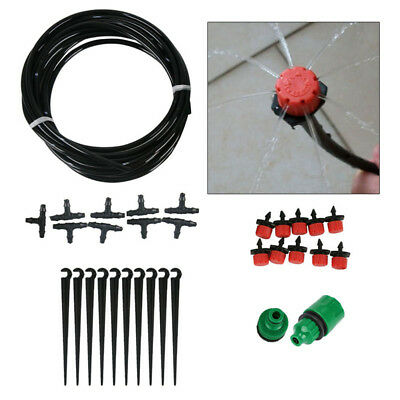 DIY Drip Kit Water Irrigation System Micro Set Watering Automatic Plants Garden