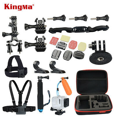 45M Underwater Accessories Bundle Kit For Polaroid Cube Or Gopro Hero Xiaommi Yi