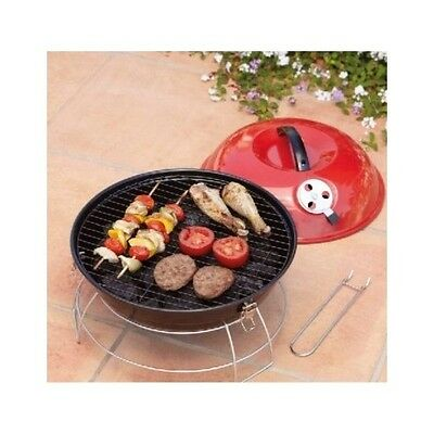 Outdoor Portable Grill BBQ Camp Picnic Small Size Away Close Lid Beach Garden