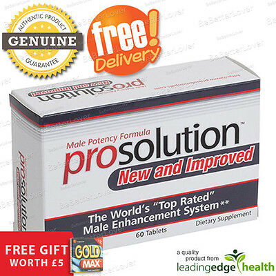 ProSolution Pills | 60 x Male Potency Pills (Free Gift + Fast Discreet Delivery)