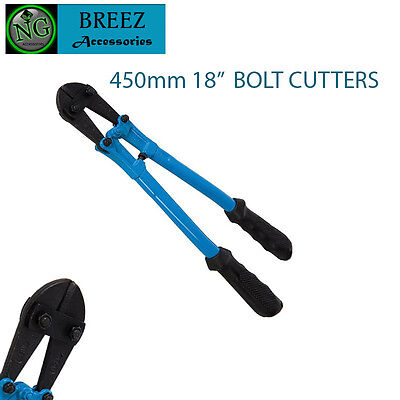 "Heavy Duty Bolt Cable Cutters Croppers Chain (450mm 18"")"