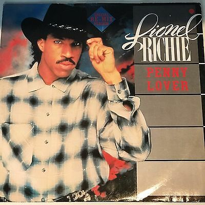 "RARE Lionel Richie - Penny Lover 12"" Special Re-Mix Version - 12"" Vinyl Record"