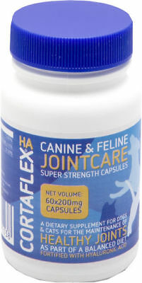 Canine Cortaflex Capsules 60 Caps, Arthritis Relief for your dog