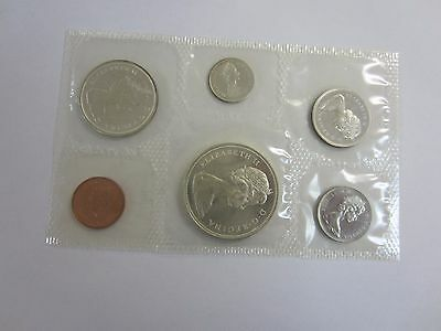 0.800 Silver 1966 Canada 6 Coin Silver Prooflike Set