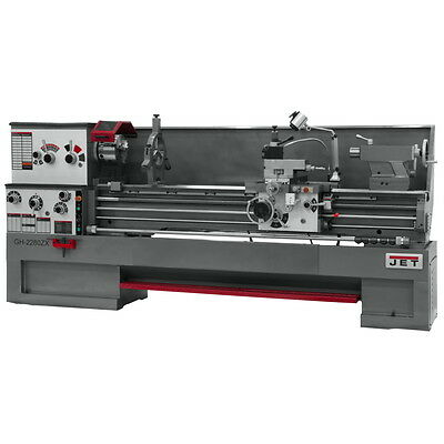 JET GH-1880ZX 18x80 LARGE SPINDLE BORE LATHE 321970 FREE Shipping!