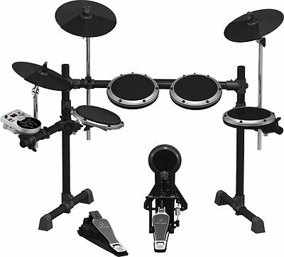 Behringer XD8USB mint 8-Piece Electronic Drum Set Dual-zone snare pad, USB