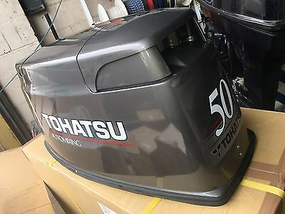 NEW Top Hood Cover Cowling Tohatsu 40HP 50HP M50D2 2-Stroke Outboard