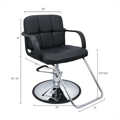 High Quality Hydraulic All Purpose  Cutting & Shampoo Barber Salon Chair