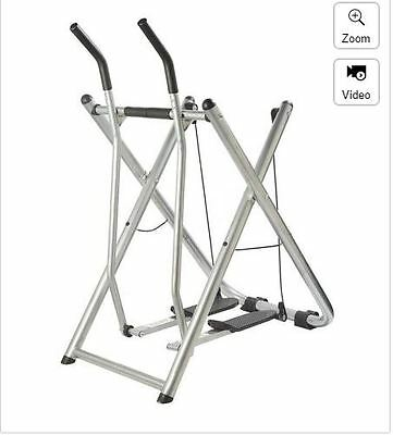 Fit Air Walker Gravity Exercise Toner Cross Trainer Workout Machine Strider New