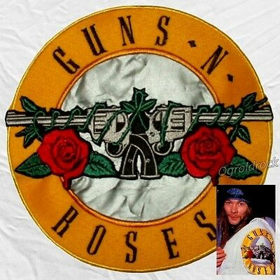 Guns N' Roses Replica Jacket Logo Embroidered Big Patch Axl Rose for Back Slash