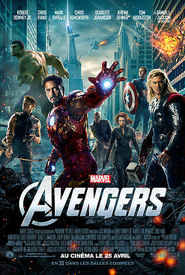 Sticker Autocollant/poster/laminated/magnet/cadre A4.movie Film The Avengers.