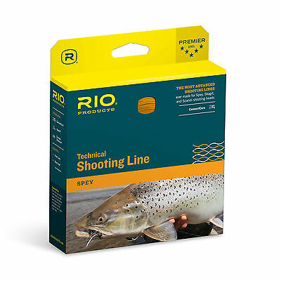 RIO Connectcore Shooting Line Spey Fly Fishing 100ft w/ Welded Loops