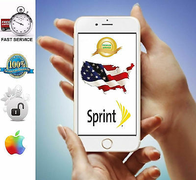 Sprint Unlock Factory Service iPhone 6 6+ 6S 6S+ SE Premium All IMEI OUT of USA