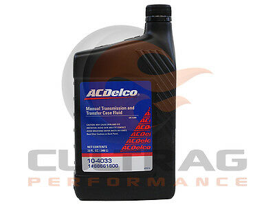 Genuine GM ACDelco Manual Transmission & Transfer Case Fluid 32oz Quart 88861800