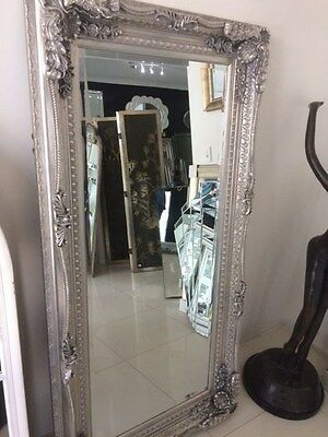 """Classic Silver Leaner    Mirror Frame"""" Mm78)"""