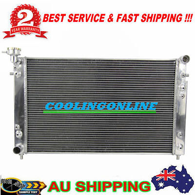 Alu Radiator for 97-02 Holden COMMODORE 2-OIL COOLER AT/MT VT VU VX HSV 3.8L V6