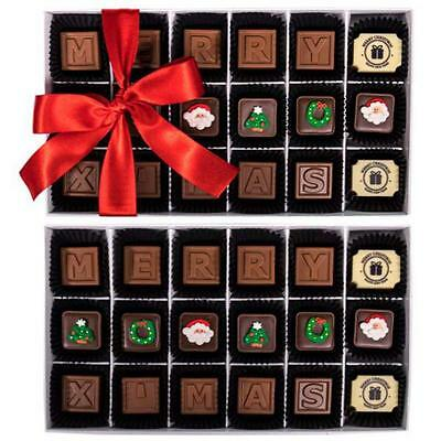 New The Edible Xmas Card chocogram gifts him her christmas