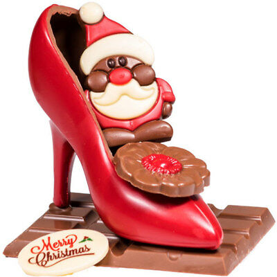 New Stilettos For Mrs Claus chocogram gifts him her christmas