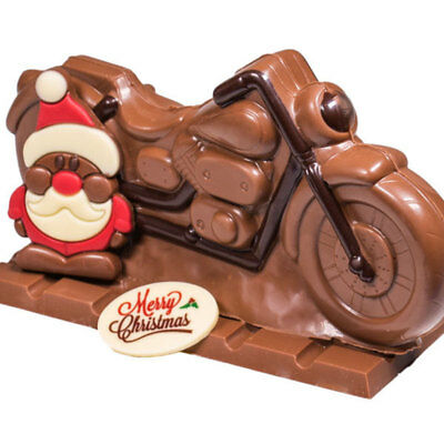 New Born To Be Wild Santa chocogram gifts him her christmas