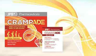 Crampade 10 Sachets X 3 boxes  For Cramp Relief