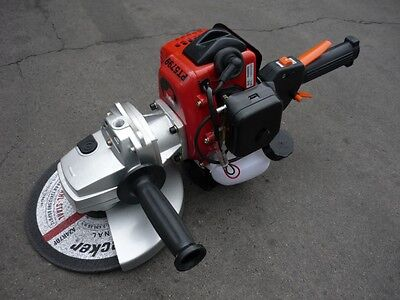 "PETROL ANGLE GRINDER 9"" 230mm 650W 2 stroke BRAND NEW"