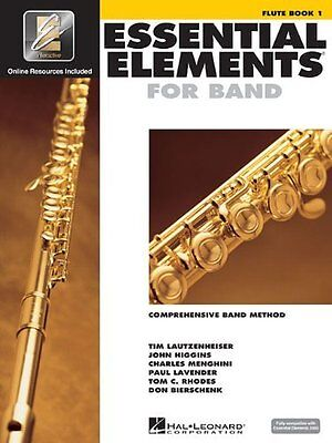 Brand New Essential Elements Flute Book 1