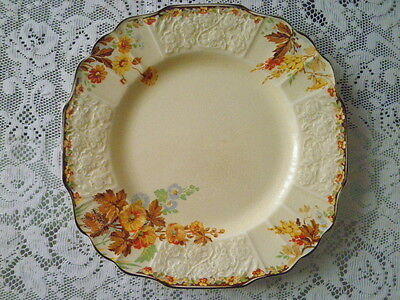 Myott - Autumn Leaves Pattern 2928 -  Embossed Plate