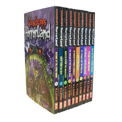 R L Stine GooseBumps HorrorLand Series 10 Books Collection Set(Who's Your Mummy)